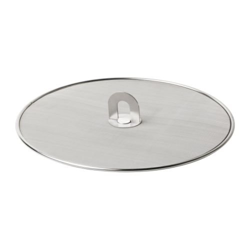 Ikea 101.125.30 Stabil Splatter Screen, Stainless Steel, 13-Inch, Silver (Ikea Frying Pan compare prices)
