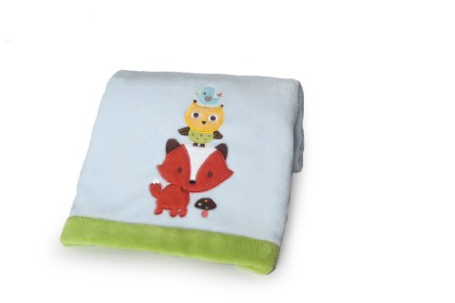 Woodland Animals Baby Bedding 5396 front