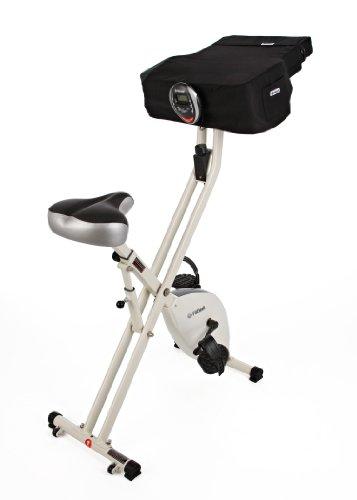 FitDesk Compact Pedal Desk, White