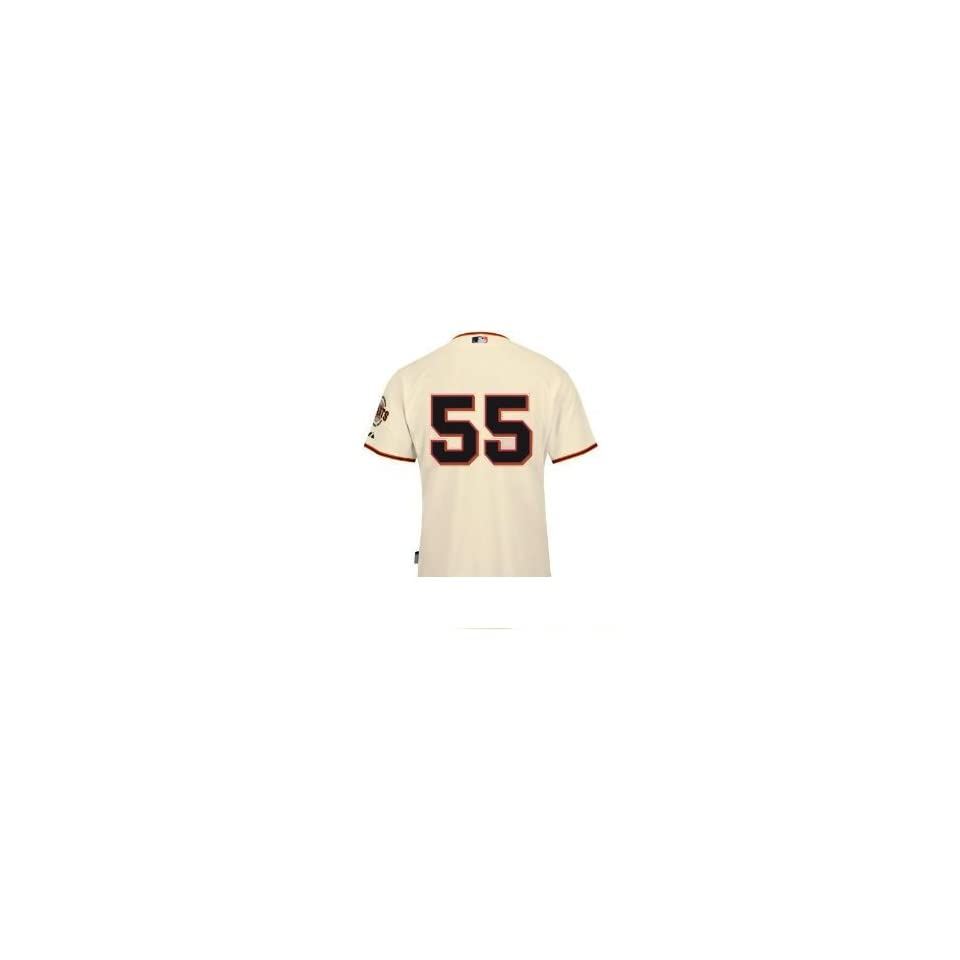 MLB Tim Lincecum San Francisco Giants Replica Alterantive Home Jersey (Large)