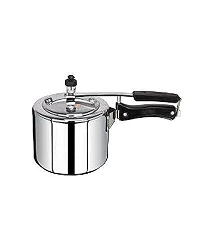 Kumkum Aluminium 2 L Pressure Cooker (Inner Lid)