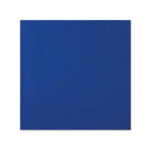 Blue Luncheon Napkins (3-Ply)    (20/Pkg) - 1