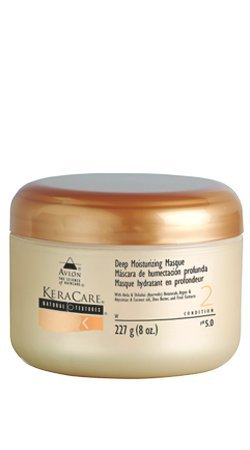 moisturizing natural hair KeraCare Natural Textures Deep Moisturizing Mask 8oz