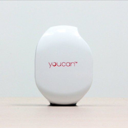 Youcan Automatic Cord Winder For Headphones, Earbuds, Chargers And Usb Cables (White)