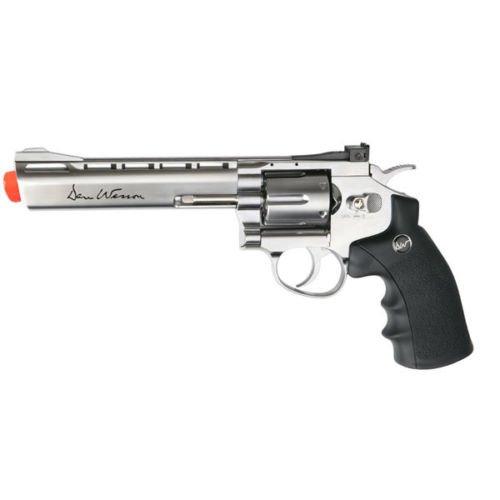 asg dan wesson 6 co2 full metal 6 round 450 fps airsoft gun revolver chrome(Airsoft Gun) (Sniper Airsoft Gun 1000 Fps Cheap compare prices)