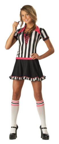 Racy Referee Teen 5-7 Teen Womens Costume