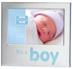 LITTLE MIRACLE baby boy frame by Prinz.