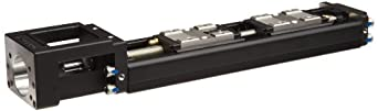 THK KR Linear Motion Guide Actuator KR2001B+150LP0-0000, 2x Blk, 1mm Lead, 91.5mm Stroke, 6mm OD, 209mm L