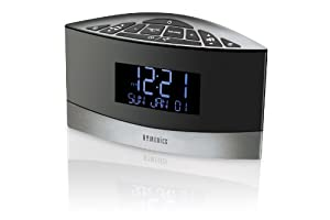 Homedics SS-5020 Sound Spa Premier FM Clock Radio with 20 Relaxation Sounds