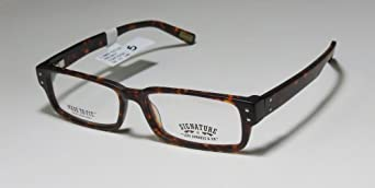 NEW STYLE & AUTHENTIC - designer/brand: SIGNATURE BY LEVI STRAUSS & CO. style/model: 1009 size: 52-15-140 color: TORTOISE type: FULL-RIM material: PLASTIC 100% RX-ABLE PRESCRIPTION CARE READY EYEGLASSES/FRAMES/EYE GLASSES/EYEWEAR - mens/womens/unisex
