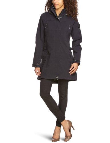 Killtec Oreana - Parka con capucha para mujer negro schwarz (00200) Talla:40