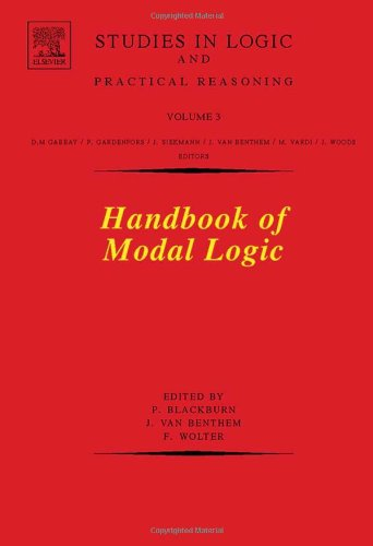 Large book cover: Handbook of Modal Logic