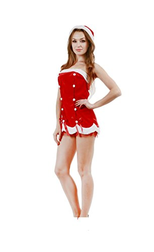 JUNPAI Women's Santa Dress Set234