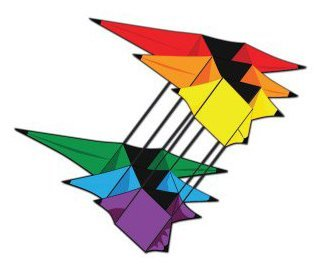 X-Kites 3D Supersize Triple Star