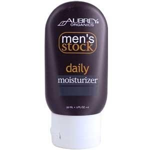 Aubrey Organics: Men's Stock Daily Facial Moisturizer, 2 oz