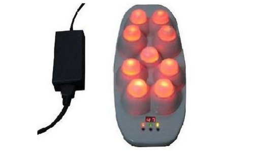 Infrared Heat Jade Moxibustion Electronic Massager