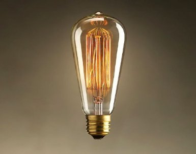 60 Watt Vintage Reproduction Original Edison Light Bulb (6 Pack)