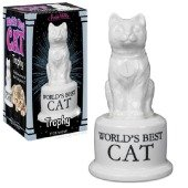Accoutrements World's Best Cat Trophy - 1