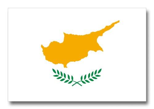 世界の国旗ポストカードシリーズ <ヨーロッパ> キプロス共和国 Flags of the world POST CARD <Europe> Republic of Cyprus