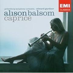 輸入盤CD アリソン・バルサム(トランペット) カプリース CapriceのAmazonの商品頁を開く