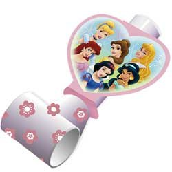 Disney Princess Party Favor Blowouts - 8 Count - 1