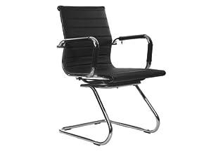 best deal depot black leather low back office desk