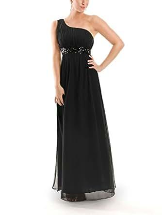 vip dress abendkleid lang one shoulder kleid ballkleid. Black Bedroom Furniture Sets. Home Design Ideas