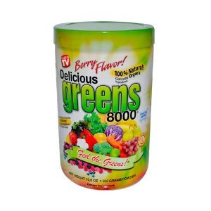 Delicious Greens 8000- 10.6 oz (Super Greens 8000 compare prices)