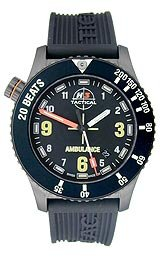 H3 TACTICAL Emergency 3-Hand Silicone Men's watch #H3.802831.12