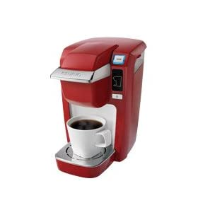 NEW Keurig Mini Plus Personal Brewer RED + Variety K cups