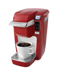 Keurig Mini Plus - Red - Comes with 12 K Cups