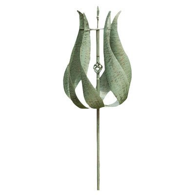 Tulip Kinetic Garden Stake