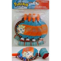 POKEMON TOGEPI Party Favors Blowouts (8 Count) Dated 2000