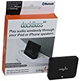 Wireless Bluetooth Music Receiver for Bose Sounddock and Other 30-pin Audio Docks. Compatible with iPhone, Samsung and Other Android Smartphones and Tablets. dockBoss air by CableJive.