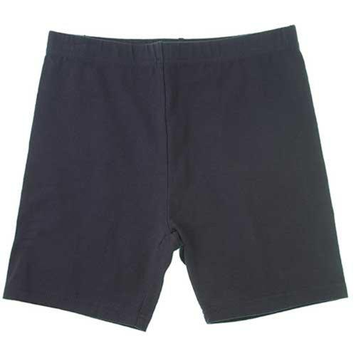 French Toast School Uniforms Knit Bike Shorts Girls Navy 3T front-321269