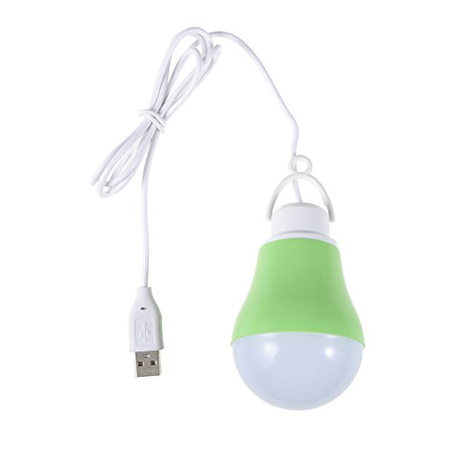 Camping-Tent-USB-Light-Bulb-Power-Bank-5v-5w-Emergency-Led-Light-Bulb-Green