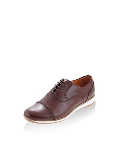 MALATESTA Zapatos Oxford MT0513 Marrón