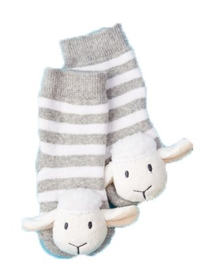 buy Animal Footsie Rattle Socks - Lamb for sale