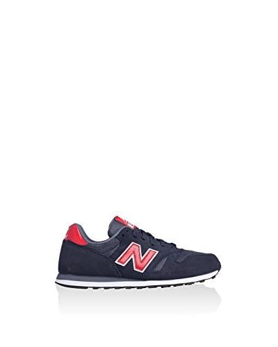 New Balance Sneaker NBML373SNR [Blu Navy/Rosso]