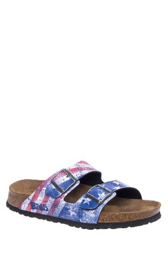 Birki's Men's Santiago Flat Slide Sandal