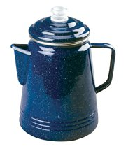 Coleman 2000008358 Blue Enamelware Percolator - 14 Cup by Coleman