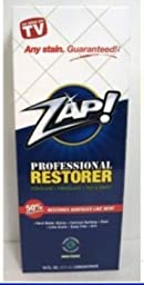 Zap Professional Restorer As seen on TV hard water stains, calcium buildup 16oz