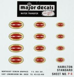 MAJOR DECALS P6 Hamilton Standard Prop Decal MAJQ0006
