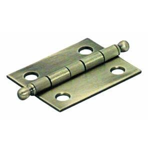 NATIONAL/SPECTRUM BRANDS HHI N213-538 1-1/2-Inch Brass Hinge, 2-Pack by NATIONAL MFG/SPECTRUM BRANDS HHI