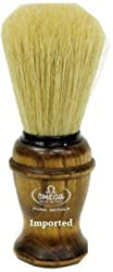 Omega Boar Bristle Made In Italy Shaving Brush 10049 With Free Ayur Sunscreen 50ml