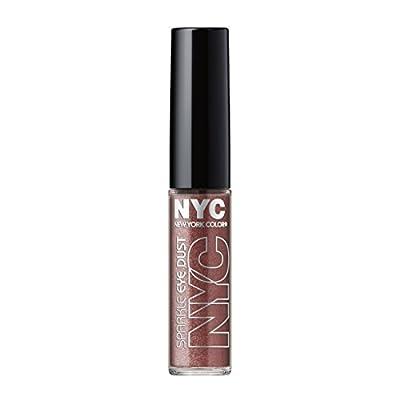 N.Y.C. New York Color Sparkle Eye Dust, Smokey Topaz, 0.105 Ounce