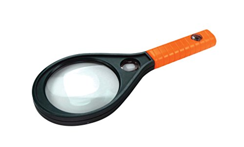 SE - Magnifier - Handheld, with Compass, 3x/8x Dual Power, 3.5in. - MD3538