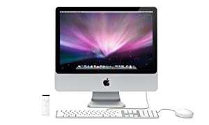 Apple iMac MB324LL/A 20-inch Desktop PC (2.66 GHz Intel Core 2 Duo, 2 GB RAM, 320 GB Hard Drive, DVD/CD SuperDrive)