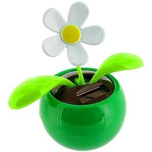 Solar Dancing Flower - Green