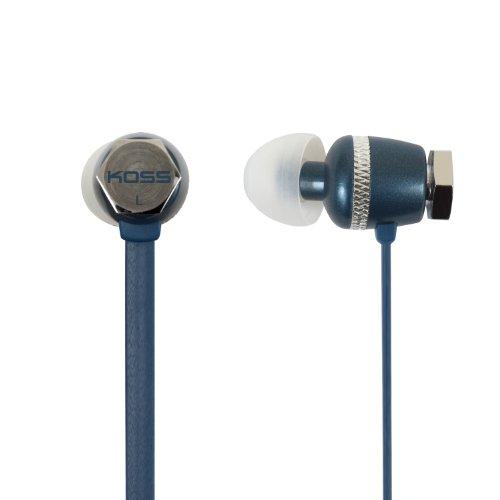 Koss Ruk 30B Noise Isolating In-Ear Stereophone, Blue